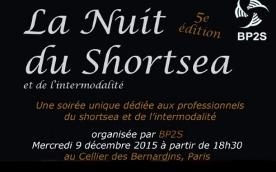 Save the date : La nuit du SHORTSEA et de l'intermodalité