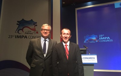 23th Congress of the IMPA at SEOUL : Jean-Philippe Casanova elected Vice-Président